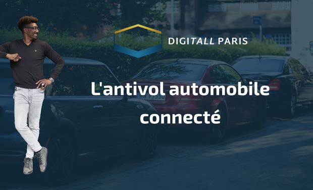 Project visual DigiTall Paris, l'antivol automobile Universel