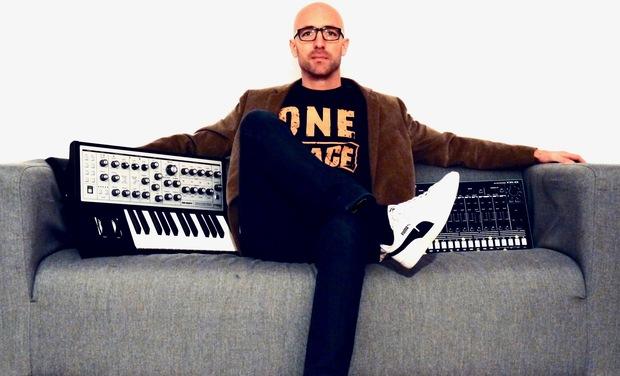 Project visual BRUNSKI - Release of 12 melodic techno tracks