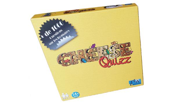 Visuel du projet CHEESE QUIZZ : le jeu de société entièrement dédié aux fromages