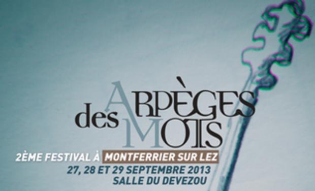 Project visual Deuxiéme festival Des Arpèges et des Mots