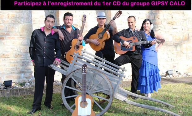Visuel du projet Participez au premier CD de GIPSY CALO (guitare/chant)