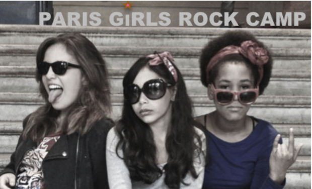 Project visual PARIS GiRLS ROCK CAMP