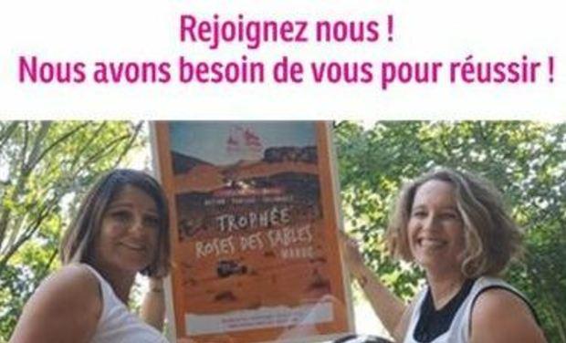 Visuel du projet Trophée Rose des sables  Rallye sportif solidaire et féminin -Eq 39 @dr2licornes