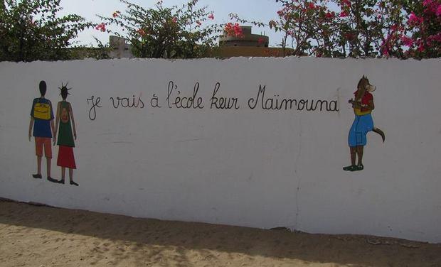 Visuel du projet Aidez nous à construire une école au Sénégal !