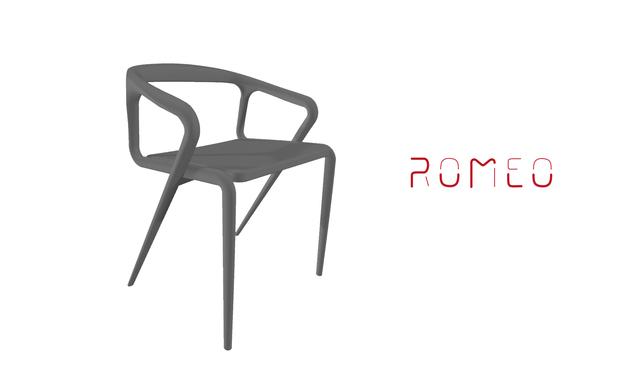 Visuel du projet La chaise Roméo