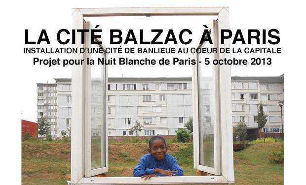 Visuel du projet LA CITÉ BALZAC À PARIS