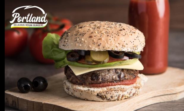 Visuel du projet Portland: des burgers vegan et écolos à Nantes