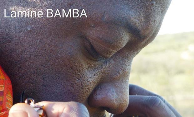 "Visuel du projet EP ""Exode"" de Lamine Bamba"