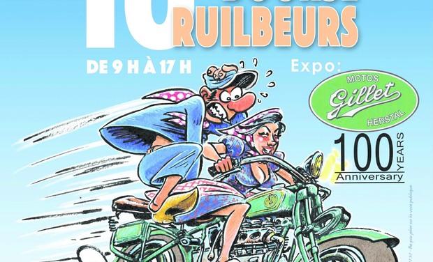 """Visuel du projet 100 ans Moto """"Gillet Herstal"""", un voyage au cœur du patrimoine liégeois."""