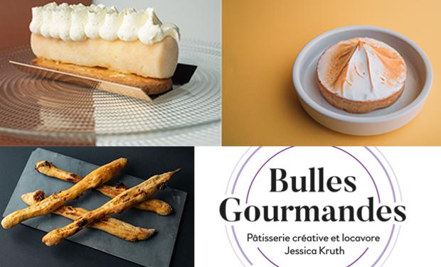 Visuel du projet Bulles Gourmandes, pâtisserie créative et locavore