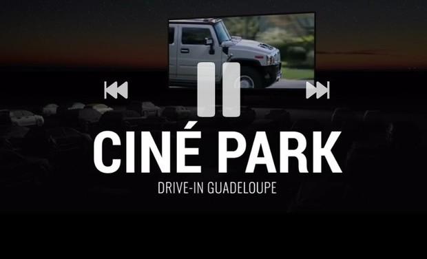 """Visuel du projet CINE-PARK, le """"Drive-In""""de GUADELOUPE"""