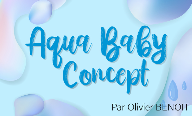 Project visual Aqua Baby Concept - Activité bébés nageurs