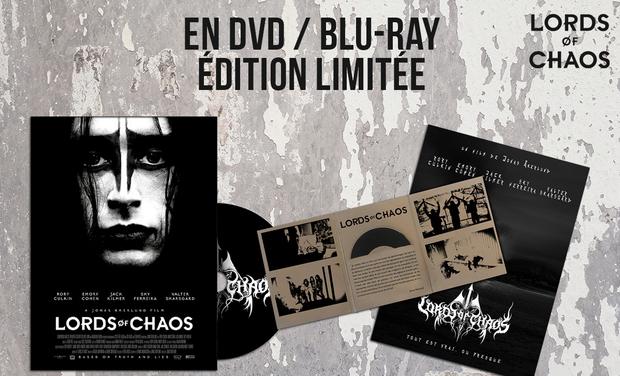 Visuel du projet LORDS OF CHAOS, le film événement en DVD/BluRay et au cinéma !