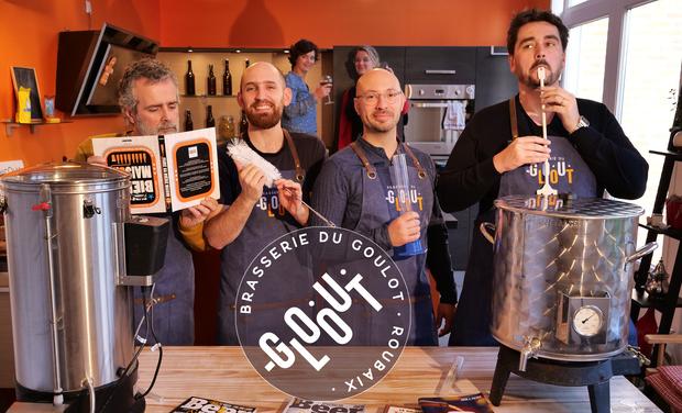 Visuel du projet La Brasserie du Goulot - Bière La Voisine