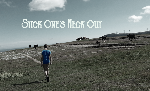 Visuel du projet 1er album de Stick One's Neck Out