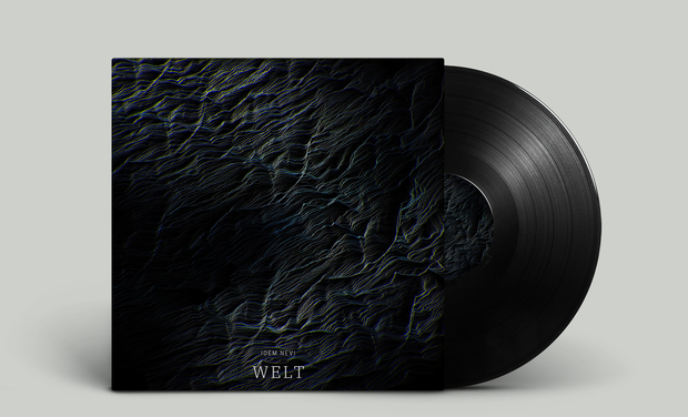 """Visuel du projet IDEM NEVI - Pressage Vinyl """"WELT EP"""" édition limitée"""