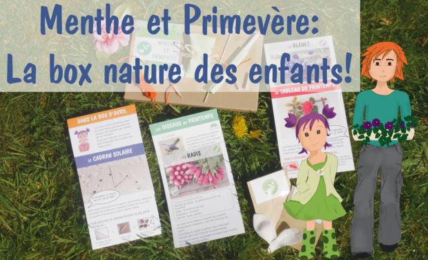 Visuel du projet Menthe et Primevère: le kit mensuel nature pour les enfants