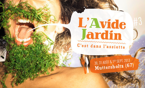 Project visual Festival L'Avide Jardin