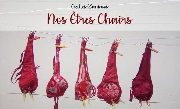 Project visual Les Zanimos - Nouvelle création - Nos êtres chairs