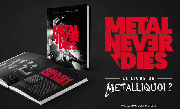 Project visual Metalliquoi ? - Le livre !