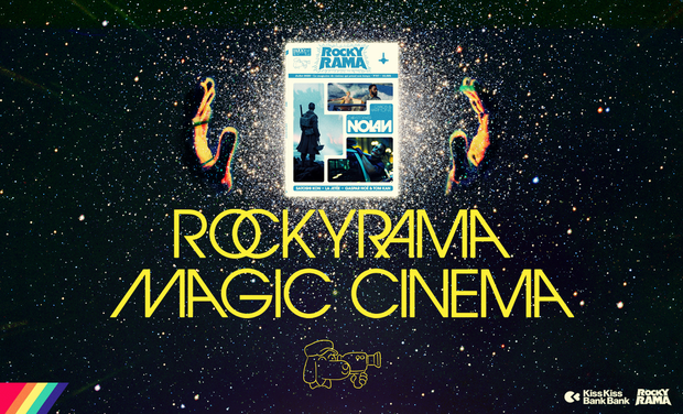 Project visual Rockyrama Magic Cinema