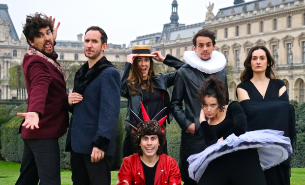 Project visual La Nuit des Rois à Avignon