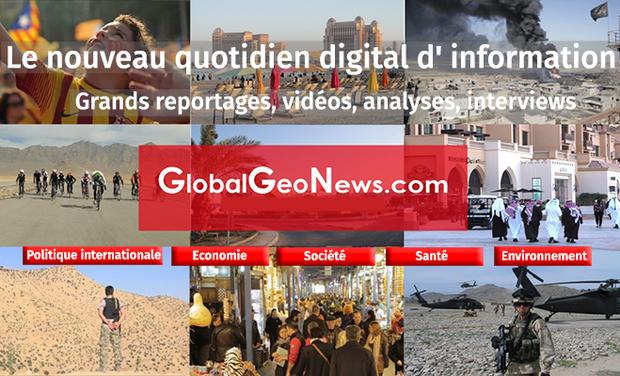 Visuel du projet GlobalGeoNews raconte l'actualité du monde réel