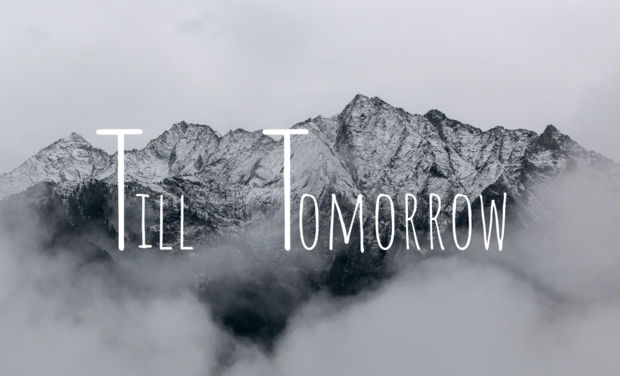 Project visual Till Tomorrow