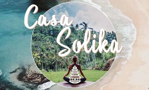 Visuel du projet Casa Solika à Bali: Maison de bien-être pour le corps & l'esprit.