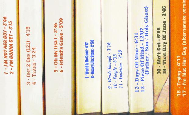 """Visuel du projet """"Songs For My Shelf"""""""