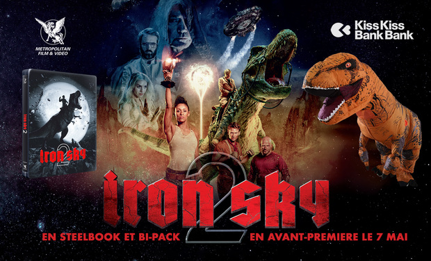 Visueel van project Iron Sky 2 : l'empire reptilien contre-attaque !