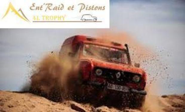 Visueel van project Ent'Raid et Pistons pour le 4L Trophy 2014