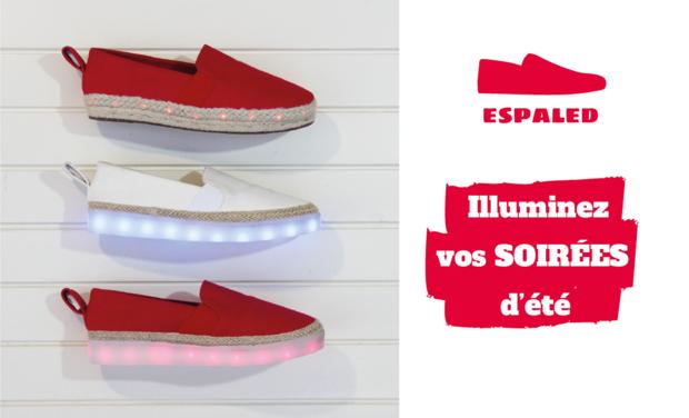 Visueel van project Espaled - La première chaussure illuminé d'été