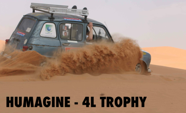 Project visual 4L TROPHY - HUMAGINE