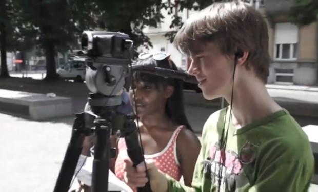 Project visual Les jeunes de l'Athénée Charles Janssens s'investissent pour les sans-abri