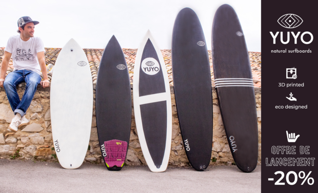 Project visual YUYO natural surfboards