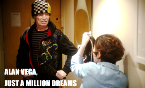 Visuel du projet Alan Vega, just a million dreams