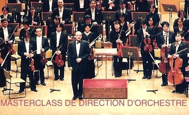 Visuel du projet Masterclass Ilya Mashkevich Chef d'Orchestre