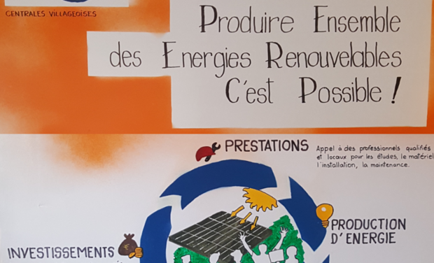 """Visuel du projet Centrales villageoises """" Soleil de l'Arc"""""""