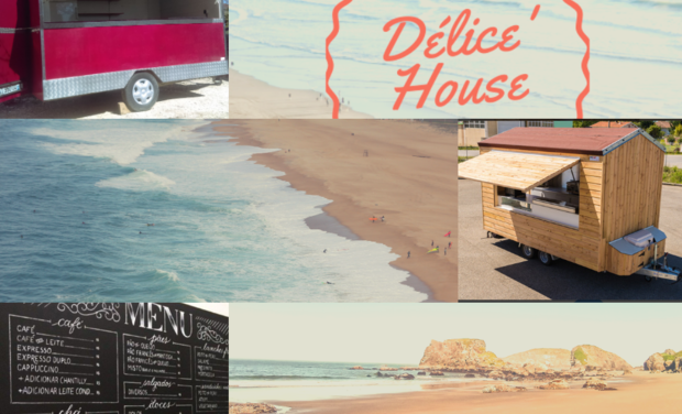 Project visual Délice' House Food Truck pour les gourmands !