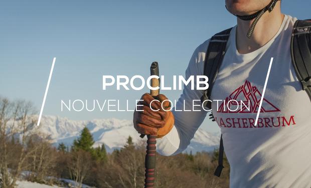 Visuel du projet Collection PROCLIMB : Vêtements techniques éco-conçus pour sportifs outdoor