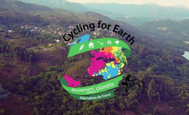 Visuel du projet Cycling for Earth - Mouvement pour la planète - Le documentaire