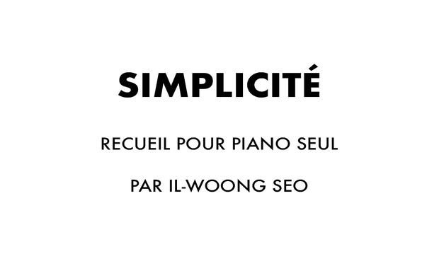 Project visual Simplicité I (et II)