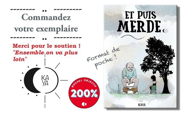 Project visual Et Puis Merde : Le Livre