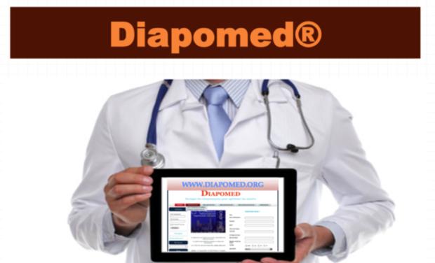 Visueel van project Diapomed