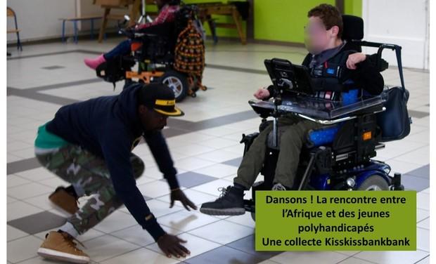 Visuel du projet Dansons! La rencontre entre l'Afrique et des jeunes en situation de handicap