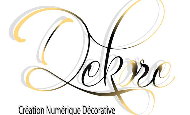 Visueel van project DEKORE  Création  Numérique  Décorative