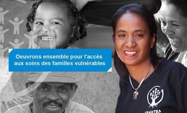 Project visual Oeuvrons ensemble pour l'accès aux soins des familles vulnérables