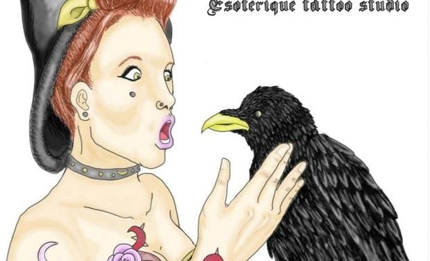 Visuel du projet Body, Spirit & Harmonie est un shop de tatoo à thématique et pratique ésotérique