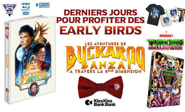 Project visual Les Aventures de Buckaroo Banzaï pour la 1ère fois en HD combo dvd/blu-ray !